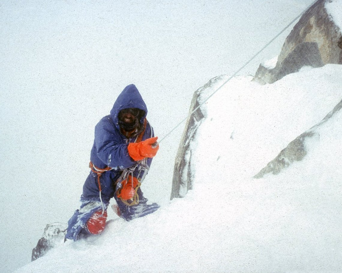 A Crawl Down The Ogre: Mountaineering talk by Doug Scott CBE: 1 of 2