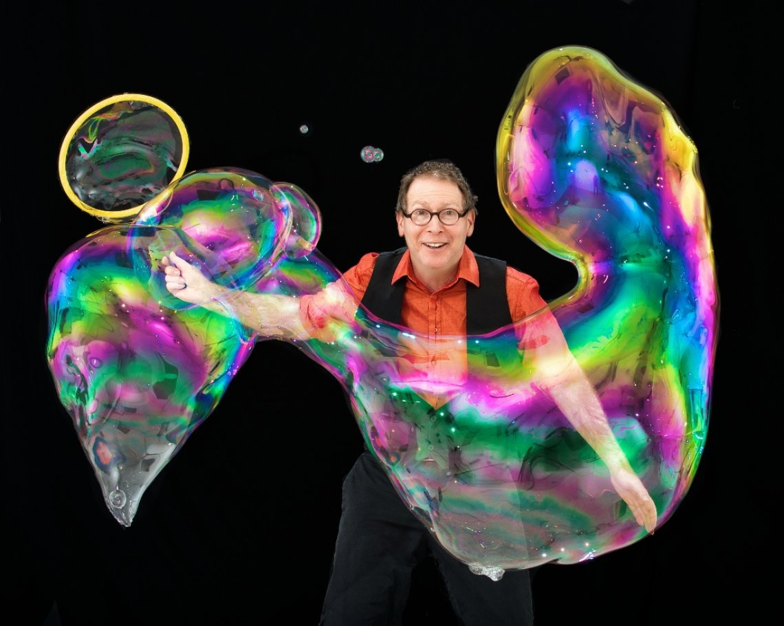 The Amazing Bubble Man: 1 of 1