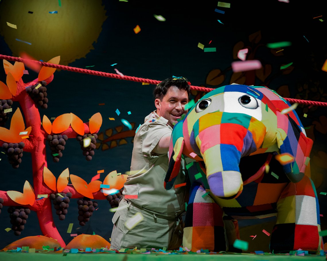 Elmer the Patchwork Elephant, Live Show : 1 of 8