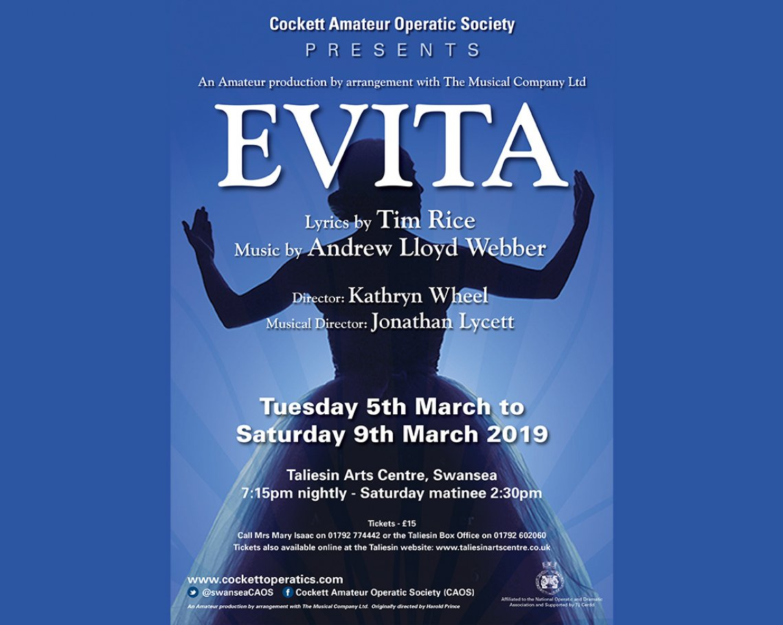 Cockett Amateur Operatic Society: Evita: 1 of 1